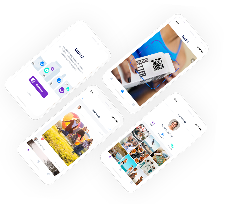 Application mobile Twiiz